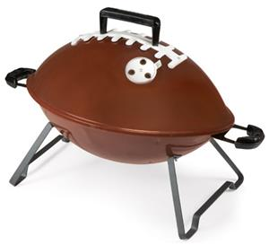 Picnic Time Football Portable Grill