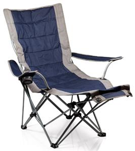Picnic Time Portable Lounger with Footrest