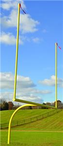Jaypro Max1 College Football Goal W/Leveling Plate