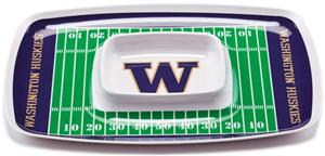 COLLEGE Washington Huskies Chip & Dip Tray Set 6