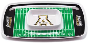 COLLEGIATE Appalachian State Chip & Dip Tray Set 6