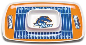 COLLEGIATE Boise State Chip & Dip Tray Set 6