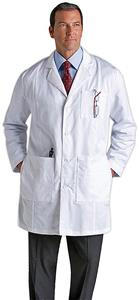 Landau Men's Premium Lab Coat