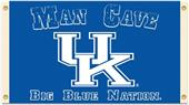 Collegiate Kentucky Wildcats Man Cave 3' x 5' Flag