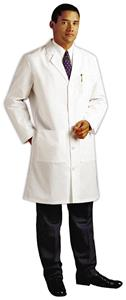Landau Men's Tailored Lab Coat