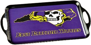 COLLEGE East Carolina Pirate Melamine Serving Tray