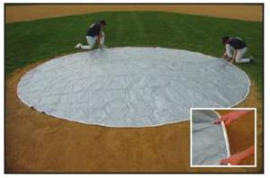Jaypro Baseball Round Wind Weighted Mound Cover