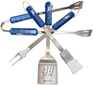 NASCAR Jimmie Johnson #48 4 Piece BBQ Set