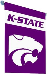 "COLLEGIATE K-State 2-Sided 13""x18"" Garden Flag"
