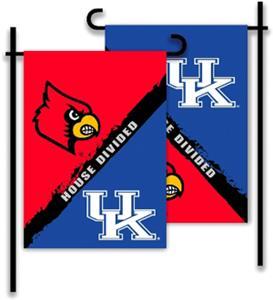 COLLEGIATE Kentucky/Louisville House Divided Flag