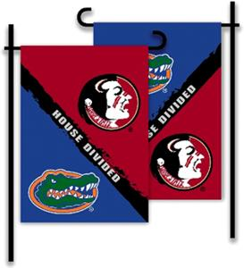 COLLEGIATE Florida - Florida St House Divided Flag