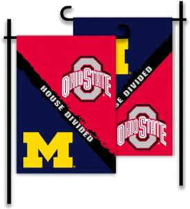 COLLEGIATE Michigan - Ohio St. House Divided Flag