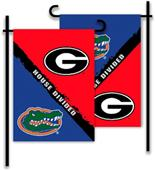 COLLEGIATE Georgia - Florida House Divided Flag
