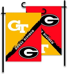 COLLEGIATE Georgia - Ga. Tech House Divided Flag