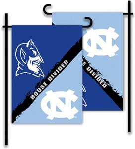 COLLEGIATE N. Carolina - Duke House Divided Flag