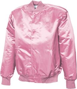 Game Sportswear Pink Pro-Satin Quilt Lined Jackets