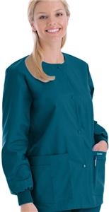 Landau Women's Warm-Up Scrub Jacket
