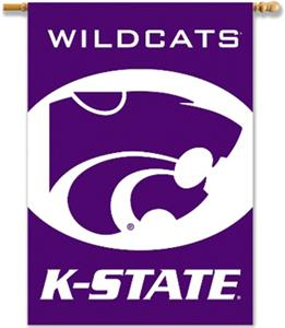 "COLLEGIATE K-State 2-Sided 28"" x 40"" Banner"