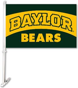 "COLLEGIATE Baylor Bears 2-Sided 11"" x 18"" Car Flag"
