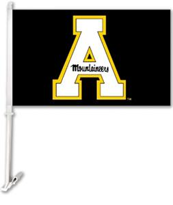 "COLLEGIATE Appalachian St 2-Sided 11""x18"" Car Flag"