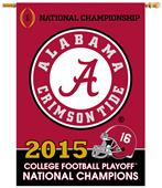 Collegiate Alabama CFP Champs 2-Sided 28x40 Banner