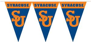 COLLEGIATE Syracuse Orange 50' Party Pennant Flags