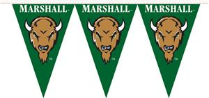 COLLEGIATE Marshall Univ 50' Party Pennant Flags