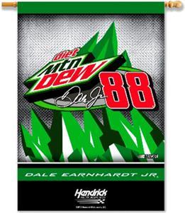 "NASCAR Earnhardt Jr. #88 Mtn. Dew 28"" x 40"" Banner"