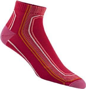 Wigwam Peloton Qtr Length Sport Pink Adult Socks