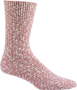 Wigwam Pink Cypress Crew Ragg Wool Look Socks
