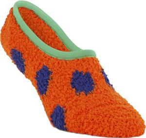 World's Softest Game Knit Polka Dot Footsie Set 6