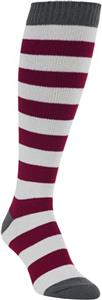 Worlds Softest Game Knit Rugby Over the Calf Sock