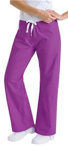 Landau Urbane Womens Boot Cut Scrub Pants