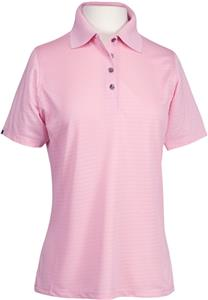 Bermuda Sands Lady Shadow Short Sleeve Golf Polos