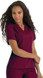 Landau Urbane Ultimate Women Ella V-Neck Scrub Top