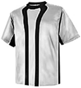 Pre-#ed ALLIANCE Soccer Jerseys WHT/BLK w/ BLK#'s
