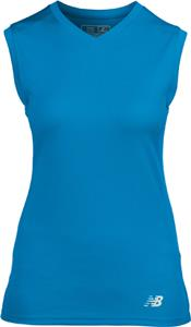 New Balance NDurance Ladies Workout V-Neck T-Shirt