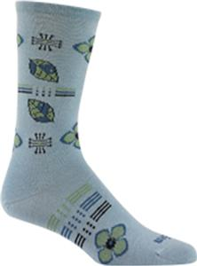 Wigwam Floral Field Crew Length Women's Socks