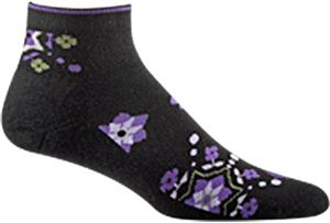 Wigwam Ditsy Quarter Length Women's Socks