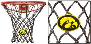 Krazy Netz Black University of Iowa Basketball Net