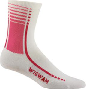Wigwam Pink Arrivo Pro Quarter Length Adult Socks
