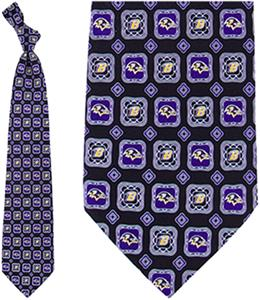 Eagles Wings NFL Baltimore Ravens Tie Medallion