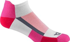 Wigwam Pink Chequers Pro Low-Cut Adult Socks