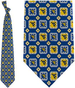 Eagles Wings NCAA West Virginia Tie Medallion
