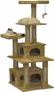 Go pet club cat tree playground equipment and gear for Epic cat tree