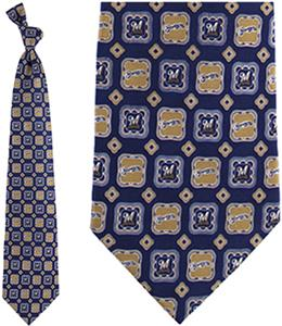 Eagles Wings MLB Milwaukee Brewers Medallion Tie