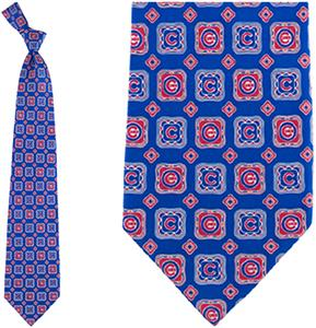 Eagles Wings MLB Chicago Cubs Medallion Tie