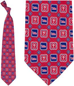 Eagles Wings MLB Phillies Medallion Tie