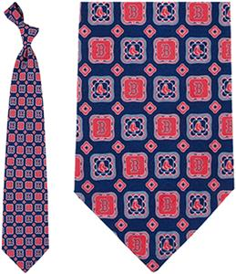 Eagles Wings MLB Boston Red Sox Medallion Tie