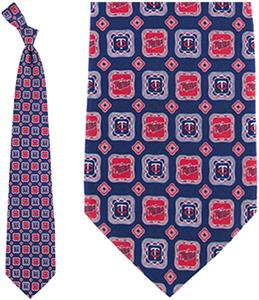 Eagles Wings MLB Minnesota Twins Medallion Tie
